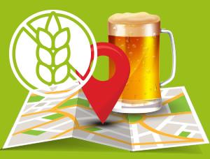 Gluténmentes sör - térképes kereső